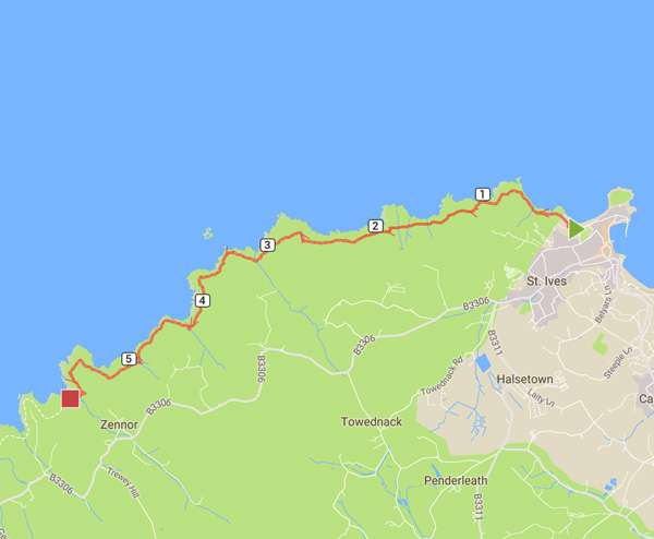 St Ives to Zennor